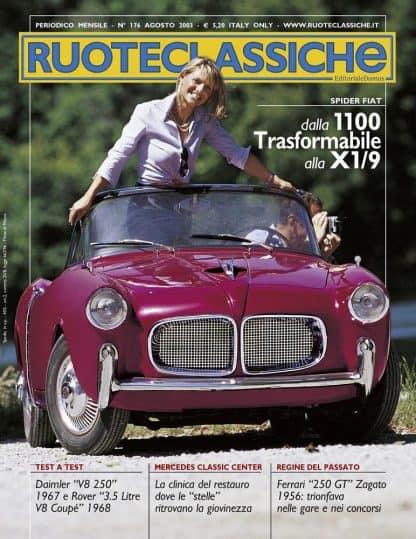 RUOTECLASSICHE N. 0176 agosto 2003-0