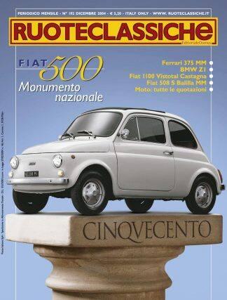 RUOTECLASSICHE N. 0192 dicembre 2004-0