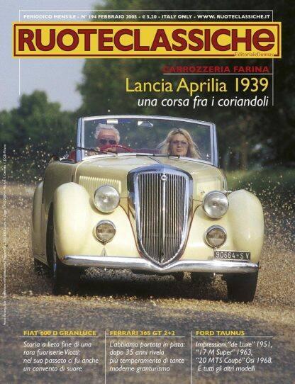 RUOTECLASSICHE N. 0194 febbraio 2005-0