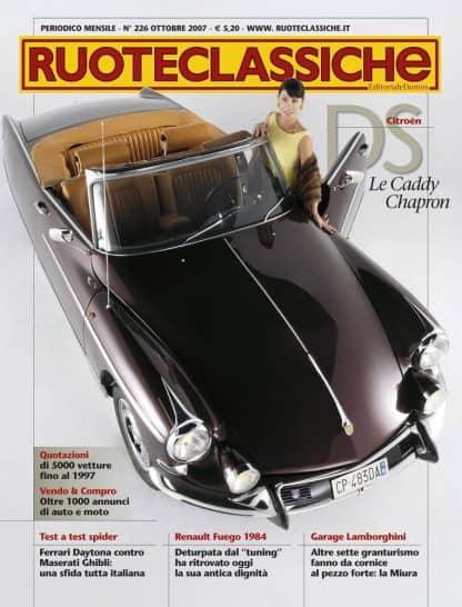 RUOTECLASSICHE N. 0226 OTTOBRE 2007-0