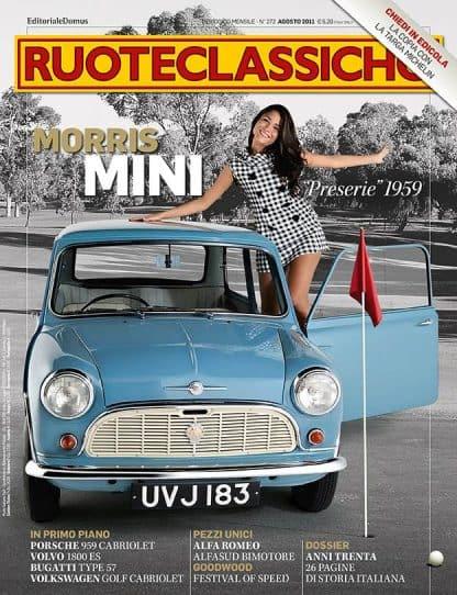 RUOTECLASSICHE N. 0272 Agosto 2011-0
