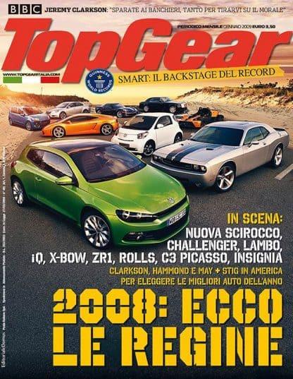 TOP GEAR N. 0014 Gennaio 2009-0