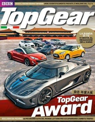 TOP GEAR N. 0039 Febbraio 2011-0