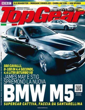 TOP GEAR N. 0048 Novembre 2011-0