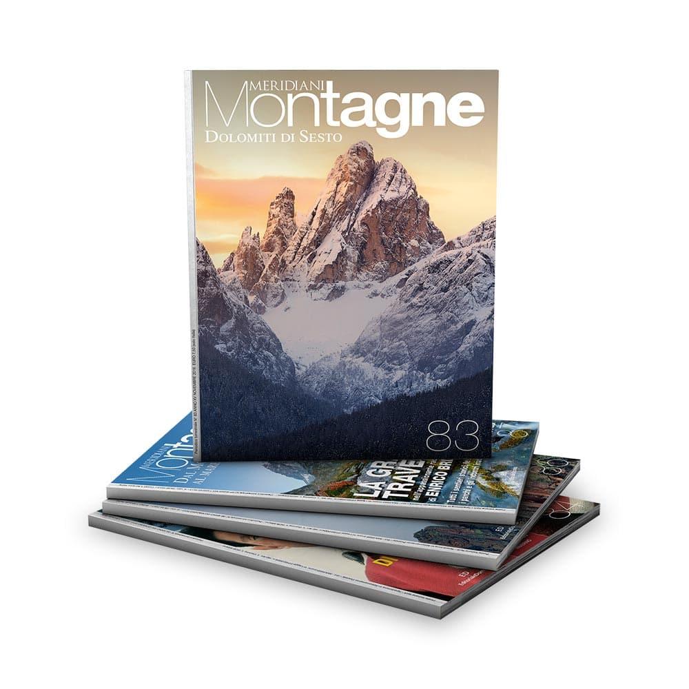 Meridiani Montagne Calendario 2020.Abbonamento A Meridiani Montagne 1 Anno