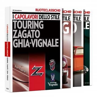 I capolavori dello stile - Touring, Zagato, Ghia, Vignale-0