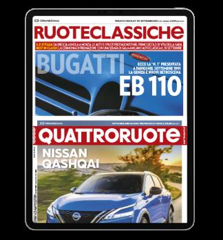 Cover quattroruote + ruoteclassiche