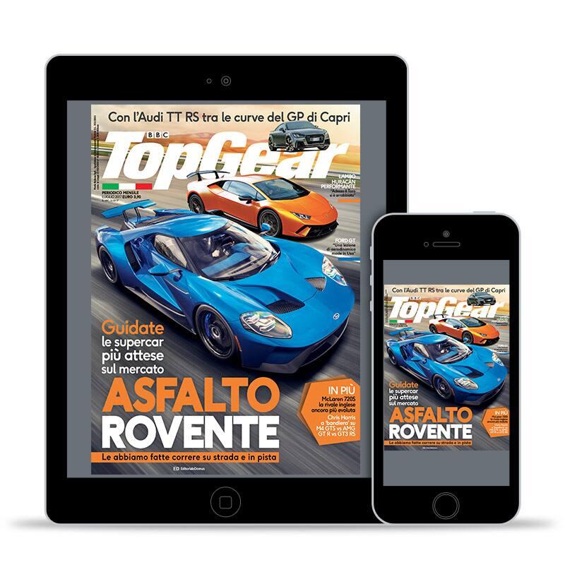 """Abbonamento a TopGear digital edition (1 anno), <p style=""""text-align: center"""">Offerta ai clienti IBS Premium</p>"""