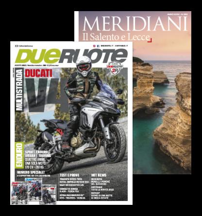 Cover Dueruote + Meridiani