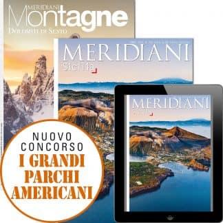 Abbonamenti Meridiani (digitale incluso) e Meridiani Montagne