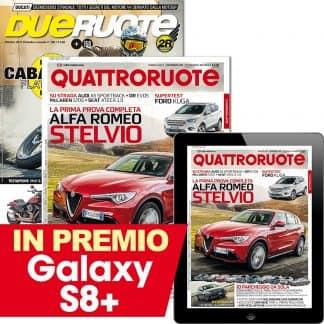 Abbonamento a Quattroruote e Dueruote (digitale incluso)