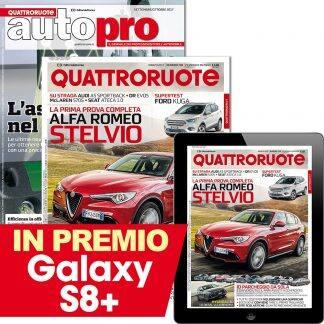 Abbonamento Quattrpruote e Autopro (digitale incluso)
