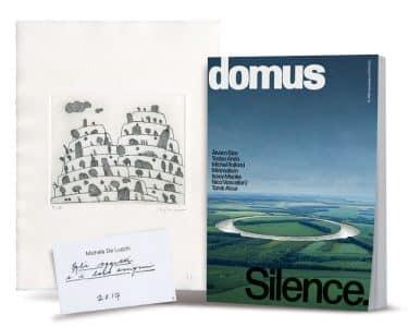 Concorso Domus Vinci l'Arte: 80 acqueforti firmate da De Lucchi