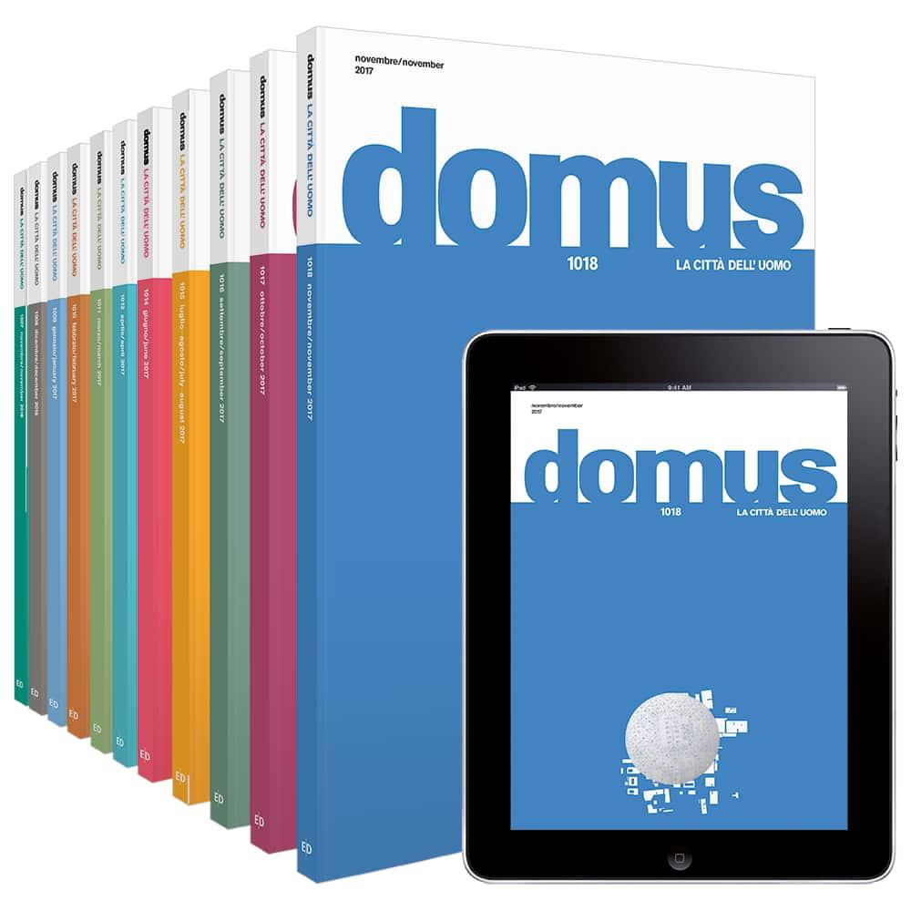 Abbonamento a Domus  (1 anno), Convenzione riservata ai dipendenti di Poste Italiane