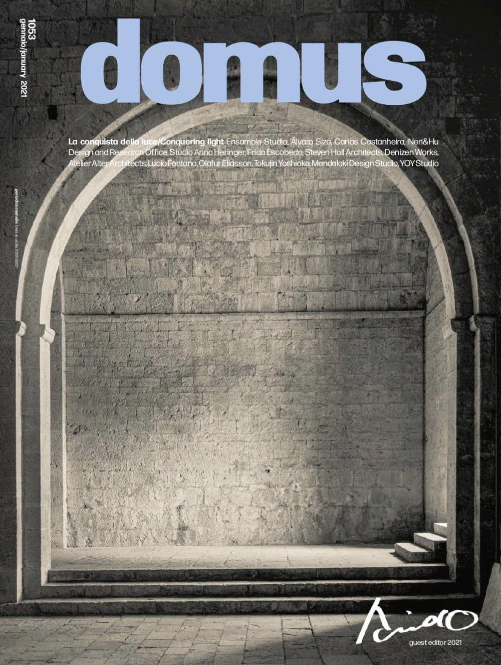 """Domus N. 1053 January 2021, <p style=""""text-align: center"""">Domus issue January 2021: buy now</p>"""