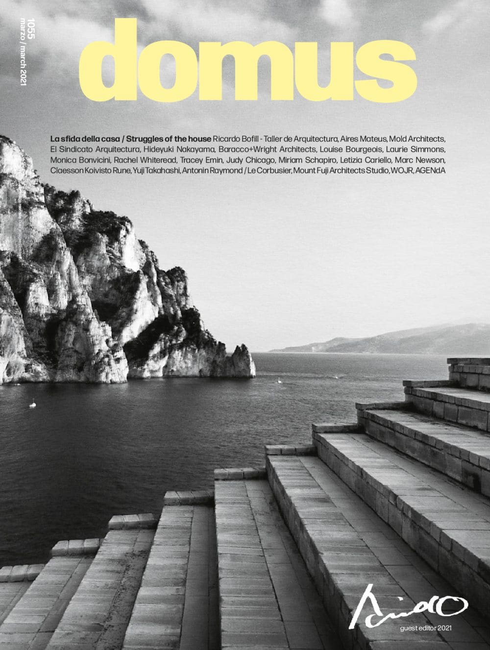 """Domus N. 1055 March 2021, <p style=""""text-align: center"""">Domus issue march 2021: buy now</p>"""