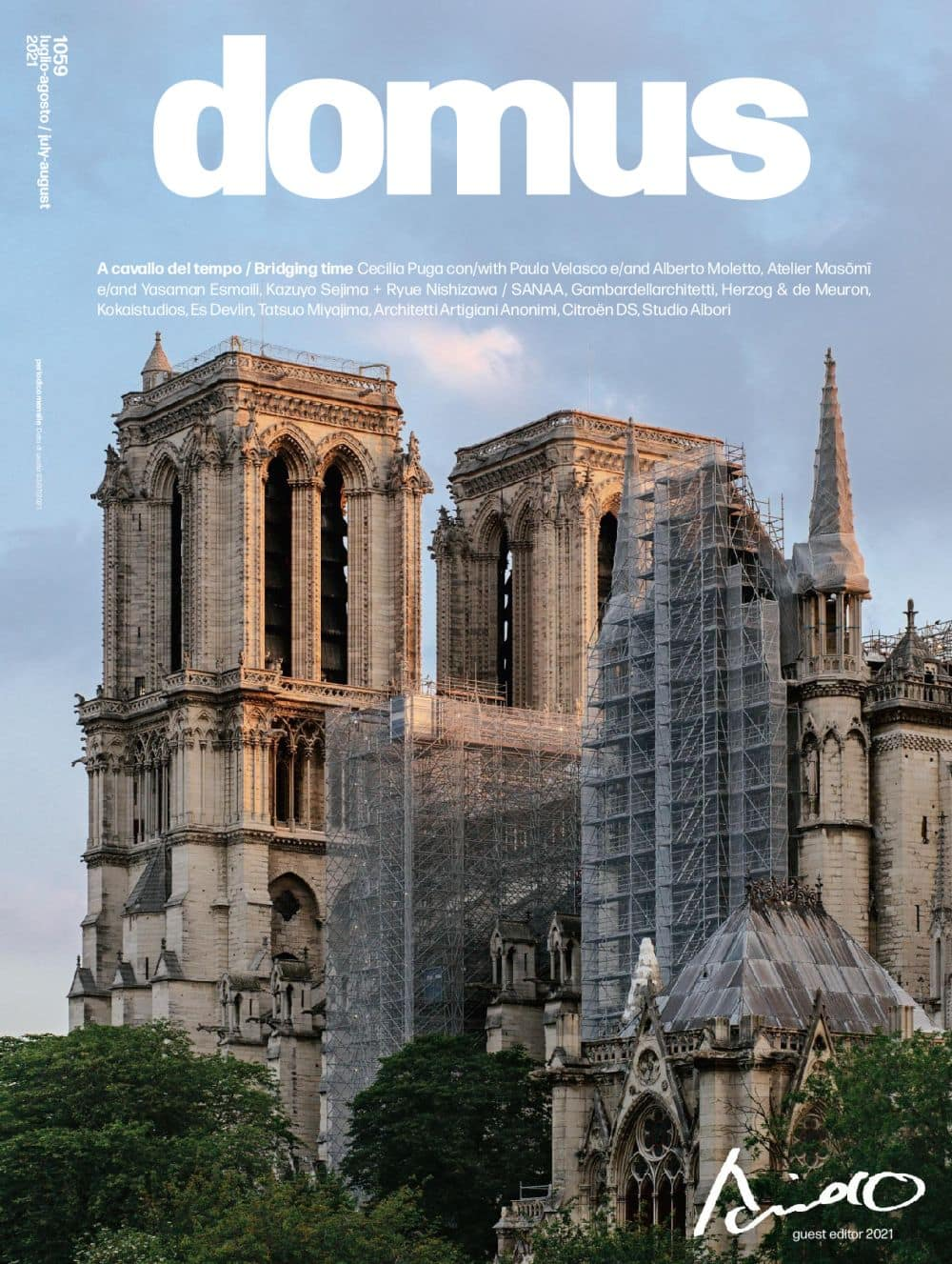 """Domus N. 1059 july 2021, <p style=""""text-align: center"""">Domus issue july 2021: buy now</p>"""