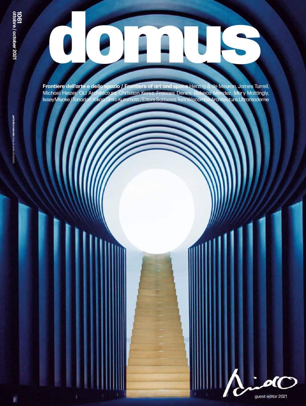 """Domus N. 1061 October 2021, <p style=""""text-align: center"""">Domus issue october 2021: buy now</p>"""